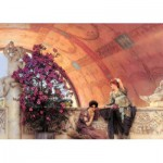 Puzzle  Ravensburger-19025 Sir Lawrence Alma-Tadema: Unbewusste Rivalinnen