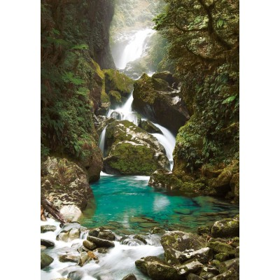 Puzzle Ravensburger-19050 Mackay Falls, Neuseeland