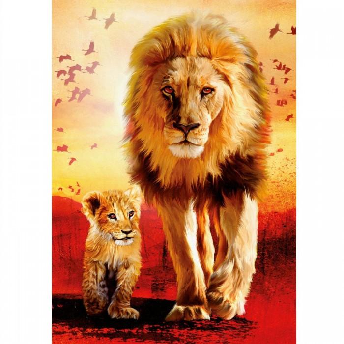 Löwen: Erste Schritte