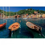 Puzzle  Ravensburger-19053 Hafen in Portofino