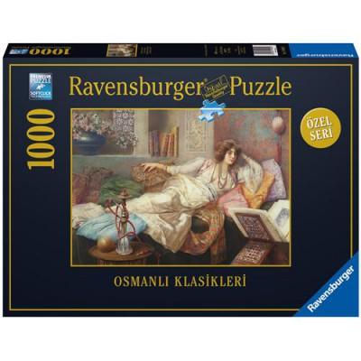 Puzzle Ravensburger-19090 Die Königin des Harems