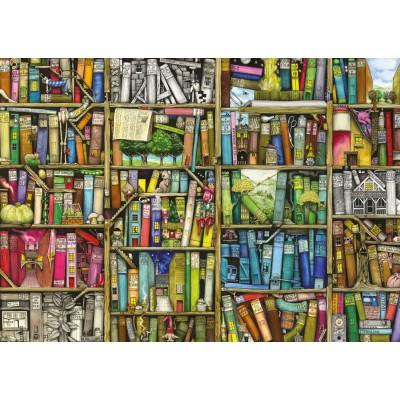 Puzzle Ravensburger-19137 Magisches Bücherregal