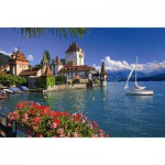 Puzzle  Ravensburger-19139 Am Thunersee