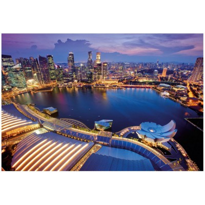 Puzzle Ravensburger-19141 Skyline Singapore