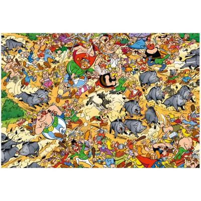 Puzzle Ravensburger-19163 Wildschweinjagd