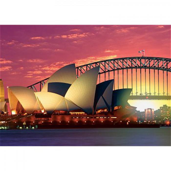 Oper mit Harbour Bridge, Sydney