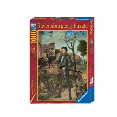 Puzzle Ravensburger-19307 Carpaccio: Porträt eines Ritters