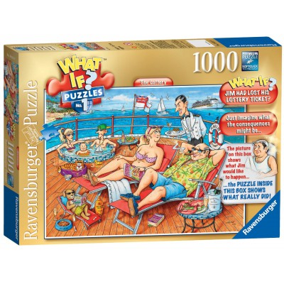 Ravensburger-19321 What If ? Puzzle Nr. 1 - The Lost Lottery Ticket