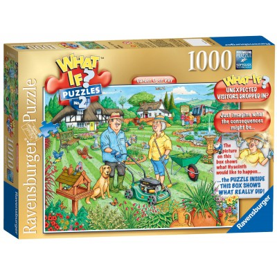 Ravensburger-19322 What If ? Puzzle Nr. 2 - Garden Open Day
