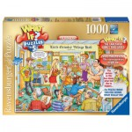 Ravensburger-19363 What If ? Puzzle Nr. 5 - The Village Hall