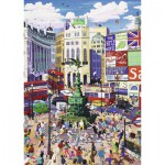 Puzzle  Ravensburger-19384 Chris Rogers: Piccadilly