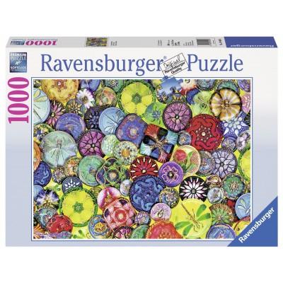 Puzzle Ravensburger-19405 Schöne Knöpfe