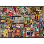 Puzzle  Ravensburger-19412 Colin Thompson: Der Handarbeitsschrank