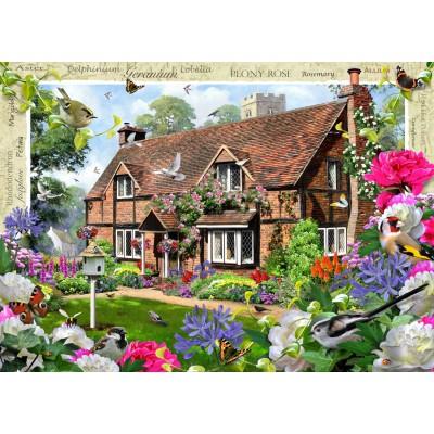 Puzzle Ravensburger-19413 Peony Cottage