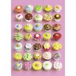 Puzzle  Ravensburger-19440 Bunte Cupcakes