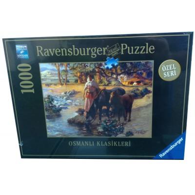 Puzzle Ravensburger-19449 Die Oase