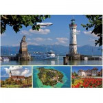 Puzzle  Ravensburger-19460 Bodensee