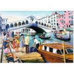 Puzzle  Ravensburger-19476 Vintage Venedig