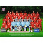 Puzzle  Ravensburger-19494 FC Bayern München Saison 2015/2016