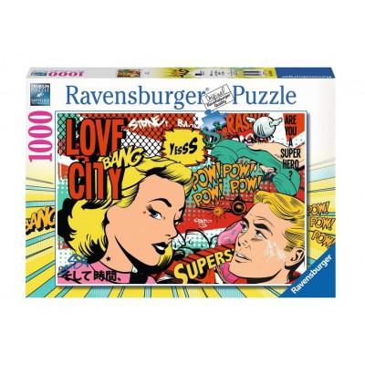 Puzzle Ravensburger-19504 Pop Art