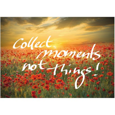 Puzzle Ravensburger-19507 Collect Moments, not things
