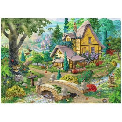 Puzzle Ravensburger-19518 Der Weg nach West Arbor