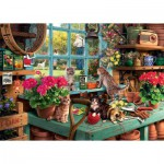 Puzzle  Ravensburger-19552 Is he watching?