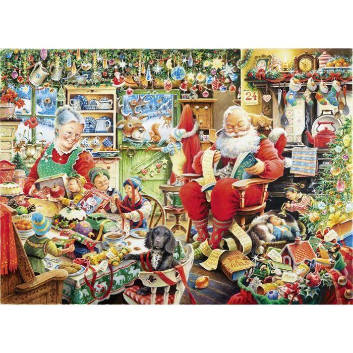 Letzte Weihnachtsvorbereitungen