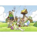 Puzzle  Ravensburger-19576 Asterix und Obelix