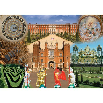 Puzzle Ravensburger-19582 Historic Royal Palaces - Hampton Court Palace