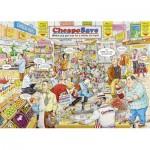 Puzzle  Ravensburger-19587 Best of British - The Supermarket