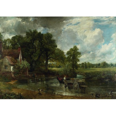 Puzzle Ravensburger-19593 Die National Gallery - The Hay Wain