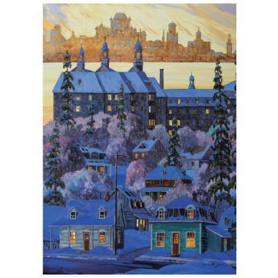 Puzzle Ravensburger-19623 Quebec City