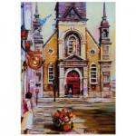 Puzzle  Ravensburger-19626 Chapelle Bon-Secours, Montréal