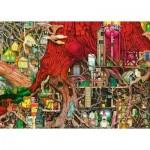 Puzzle  Ravensburger-19644 Colin Thompson: Verborgene Welt