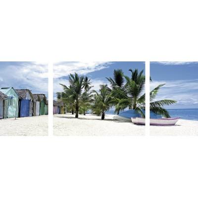 Puzzle Ravensburger-19646 Insel Saona, Karibik