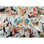Puzzle  Ravensburger-19649 Wasservögel