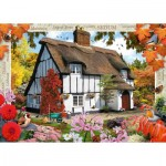 Puzzle  Ravensburger-19651 Sedum Cottage