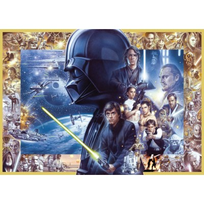 Puzzle Ravensburger-19669 Star Wars