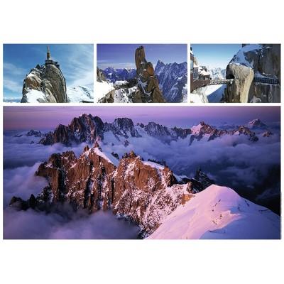 Puzzle Ravensburger-19671 Der Mont Blanc