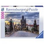 Puzzle  Ravensburger-19738 Spazierg.über Karlsbrücke