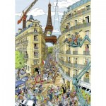 Puzzle  Ravensburger-19927 Paris