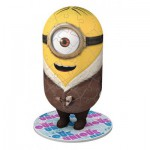 Ravensburger-72077-11667 3D Puzzle - Minions: Bored Silly