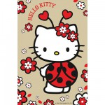 Puzzle  Ravensburger-72263-09451-2 Hello Kitty: Marienkäfer