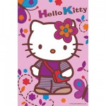 Puzzle  Ravensburger-72263-09451-3 Hello Kitty: Spaziergang