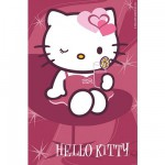 Puzzle  Ravensburger-72263-09451-6 Hello Kitty: Augenzwinker