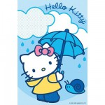 Puzzle  Ravensburger-72263-09451-7 Hello Kitty: Im Regen