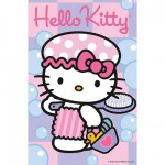 Puzzle  Ravensburger-72263-09451-8 Hello Kitty geht baden