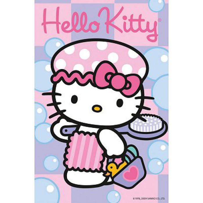 Hello Kitty geht baden