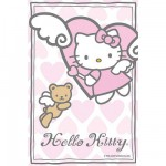 Puzzle  Ravensburger-72263-09451-9 Hello Kitty: Kleiner Engel
